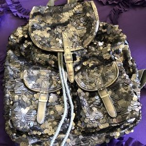 Platinum Sparkle Backpack